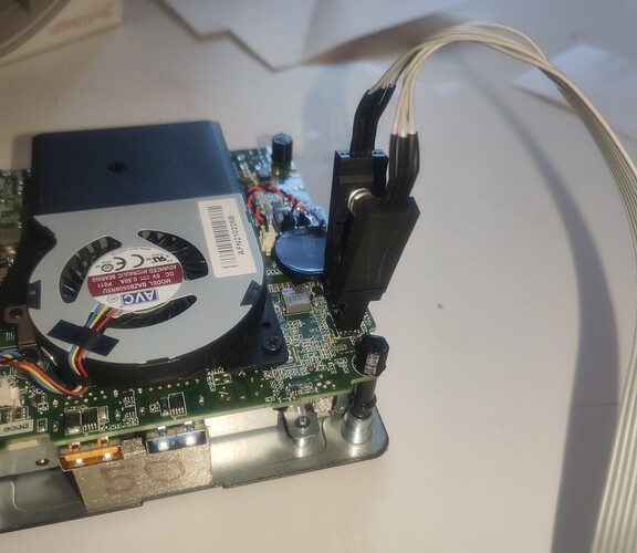 NUC connected