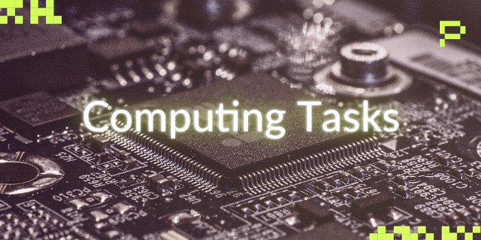 computing task banner